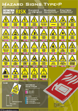 Hazard Signs Type-P
