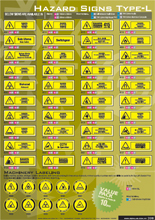 Hazard Signs Type-L