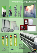 Large Format Digital Printing & Promotion Accessories